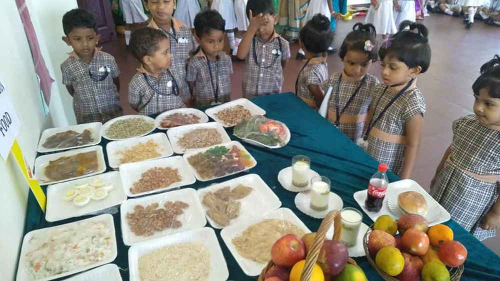 best_public_school_in_kerala_ Fruits And Vegetable Day